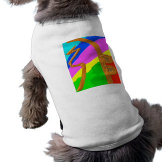 Sayhayki   BOLD Rainbow Sleeveless Dog Shirt