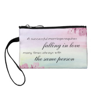Saying Quote Coin Purse