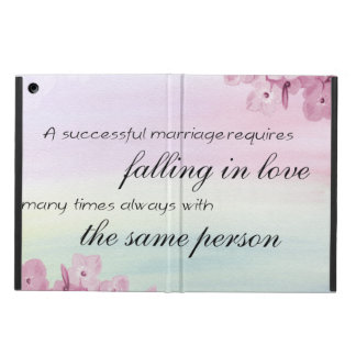 Saying Quote Cover For iPad Air