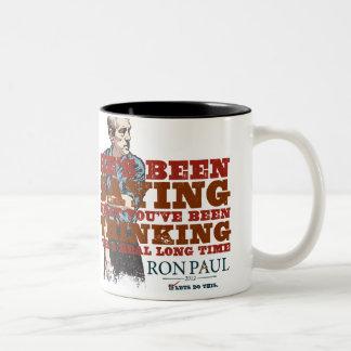 Saying What You're Thinking Mug