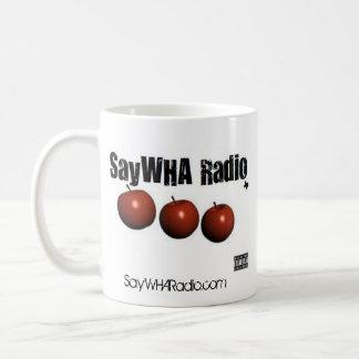 SayWHA Radio Mug