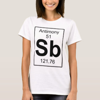Sb - Antimony T-Shirt