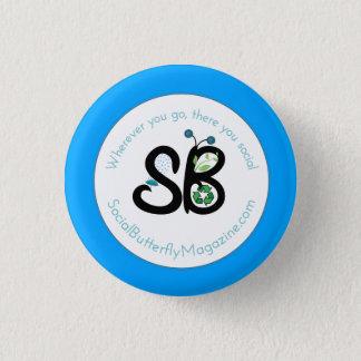 SBM Earth Day Logo Mini Button Pin