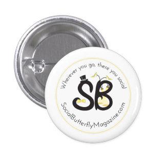 SBM Fashion Logo Mini Button Pin