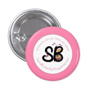 SBM Moms & Proms Logo Mini Button Pin