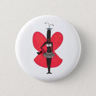 SBM Pseudo Celeb Red/Black Bikini Fashion Pin