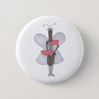 SBM Pseudo Celeb Red Future Fashion Pin