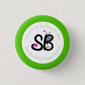 SBM Summer Logo Mini Button Pin
