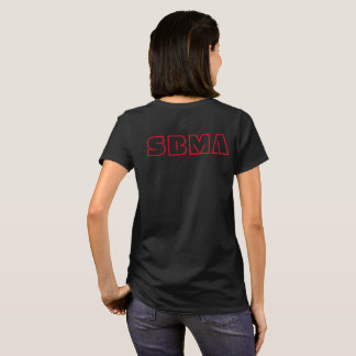 SBMA women's cotton t-shirt