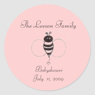 sc00078761, The Leeson Family,  BabyshowerJuly ... Round Sticker