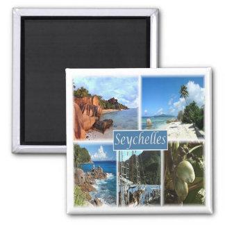 SC * Seychelles - Collage Magnet