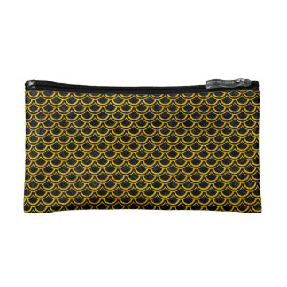 SCA2 BK-YL MARBLE COSMETIC BAGS