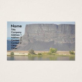 Scabland Landscape Photo Business Card