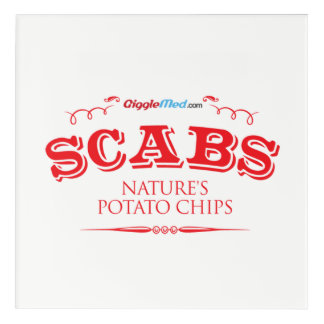 Scabs: Nature's Potato Chips Acrylic Print