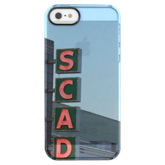 SCAD CLEAR iPhone SE/5/5s CASE