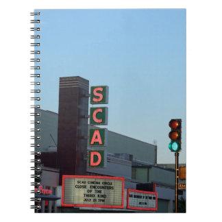 SCAD SPIRAL NOTEBOOK