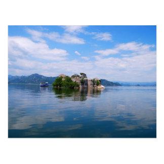 Scadar Lake in Montenegro Postcard