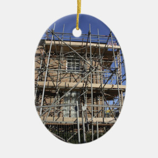 Scaffolding Oranament Ceramic Ornament