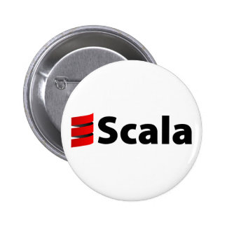 Scala Button, Scala Logo 6 Cm Round Badge