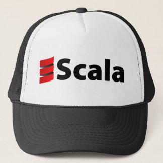 Scala Hat, Black Logo Trucker Hat