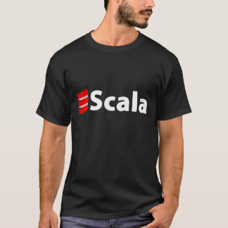 Scala Shirt, White Logo T-Shirt