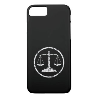 Scale, Distressed iPhone 7 Case