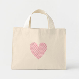 Scale Heart Tiny Bag