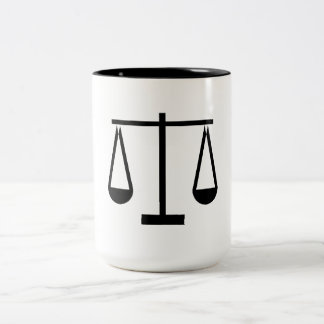 Scale Of Justice Mug