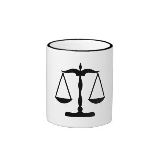 Scale Of Justice Coffee Mug