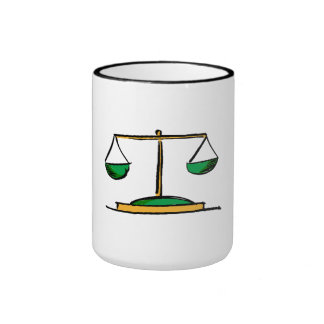 Scale Of Justice Mugs