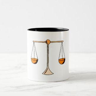 Scale Of Justice Two-Tone Mug