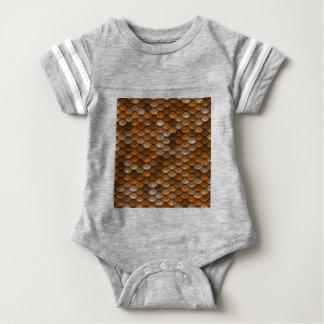 Scale Pattern Baby Bodysuit