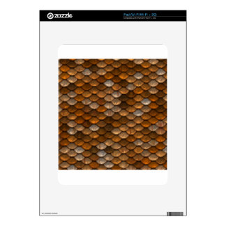 Scale Pattern Decals For iPad