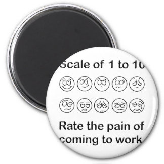 Scale The Pain Refrigerator Magnets