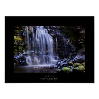 Scaleber Force, The Yorkshire Dales Poster