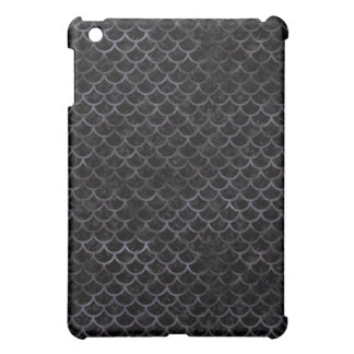 SCALES1 BLACK MARBLE & BLACK WATERCOLOR iPad MINI COVERS