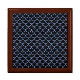 SCALES1 BLACK MARBLE & BLUE DENIM GIFT BOX