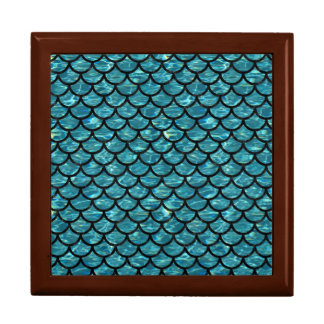SCALES1 BLACK MARBLE & BLUE-GREEN WATER (R) GIFT BOX