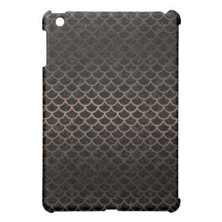 SCALES1 BLACK MARBLE & BRONZE METAL CASE FOR THE iPad MINI