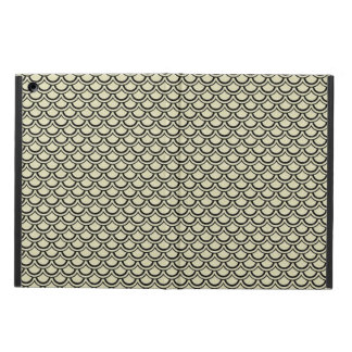 SCALES2 BLACK MARBLE & BEIGE LINEN (R) CASE FOR iPad AIR