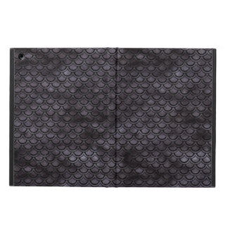 SCALES2 BLACK MARBLE & BLACK WATERCOLOR (R) iPad AIR CASE