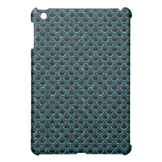 SCALES2 BLACK MARBLE & BLUE-GREEN WATER iPad MINI CASE