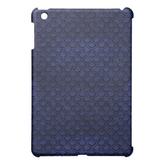 SCALES2 BLACK MARBLE & BLUE LEATHER (R) COVER FOR THE iPad MINI