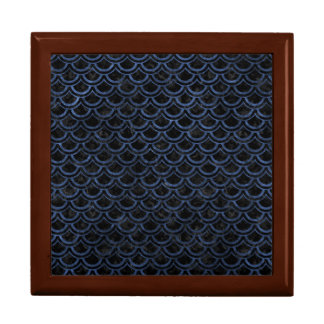 SCALES2 BLACK MARBLE & BLUE STONE GIFT BOX