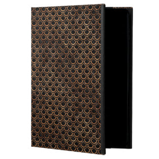 SCALES2 BLACK MARBLE & BROWN STONE POWIS iPad AIR 2 CASE