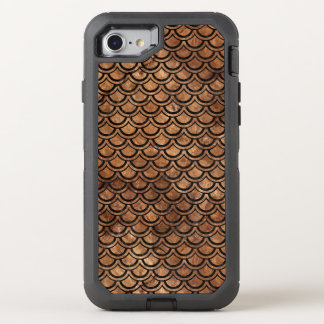 SCALES2 BLACK MARBLE & BROWN STONE (R) OtterBox DEFENDER iPhone 8/7 CASE