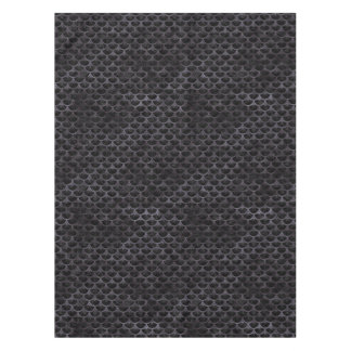 SCALES3 BLACK MARBLE & BLACK WATERCOLOR TABLECLOTH