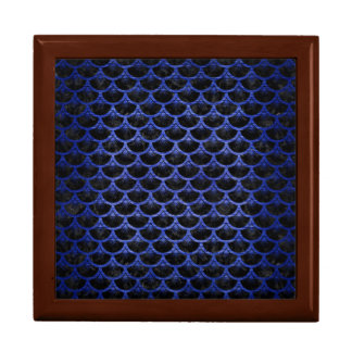 SCALES3 BLACK MARBLE & BLUE BRUSHED METAL GIFT BOX