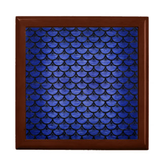 SCALES3 BLACK MARBLE & BLUE BRUSHED METAL (R) GIFT BOX