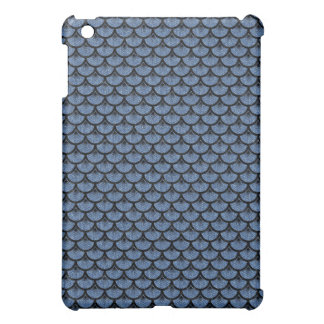 SCALES3 BLACK MARBLE & BLUE DENIM (R) CASE FOR THE iPad MINI